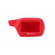 Чехол для брелока StarLine B/A61/A91 Силикон Красный